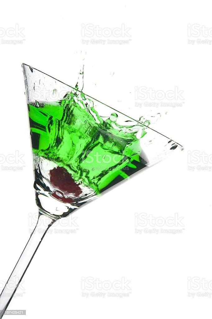 Martini Splash Series royalty-free stock photo