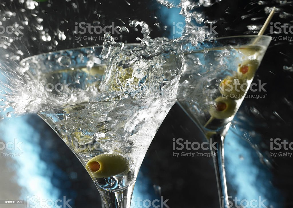 Martini Wild Splash stock photo