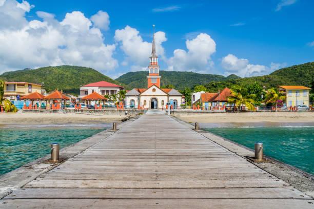 Martinique Caribbean village of Anse d'Arlet