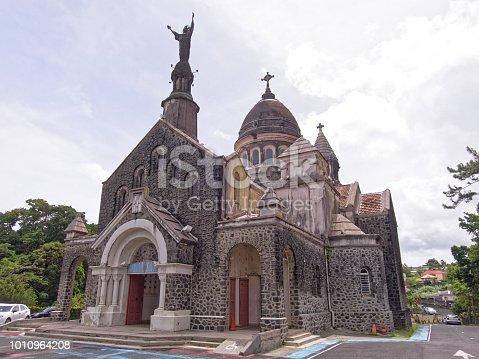 Martinique, FWI - Sacre-coeur church of Balata - Fort-de-France