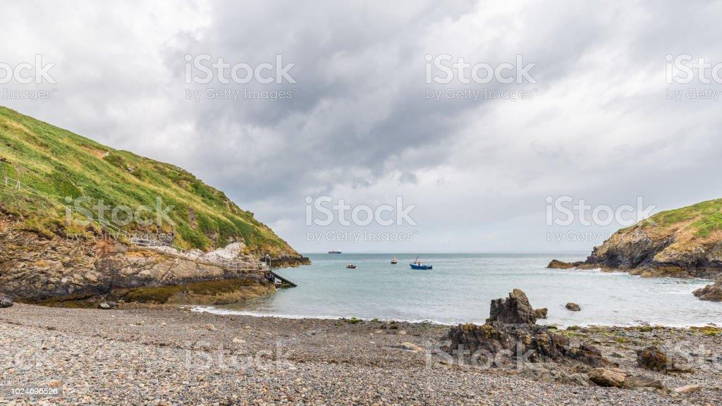 Martins Haven in Pembrokeshire, Wales, Verenigd Koninkrijk foto