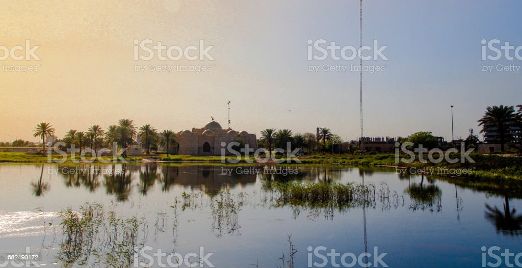 Martyr monument in Baghdad royalty-free stock photo