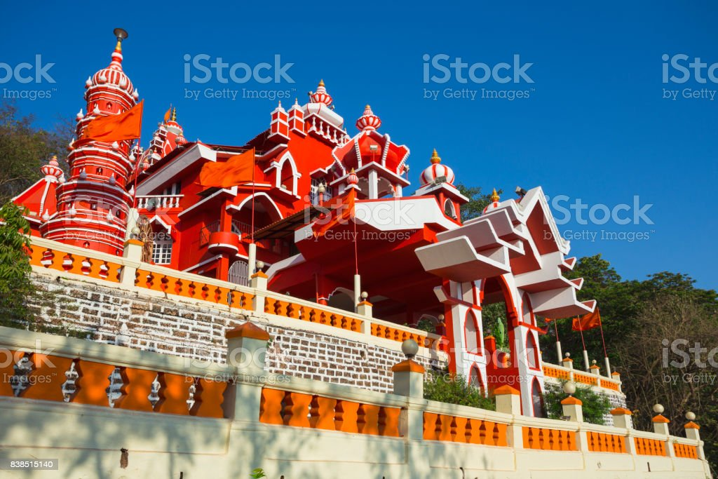 Maruti Temple (Hanuman Temple) in Panjim stock photo