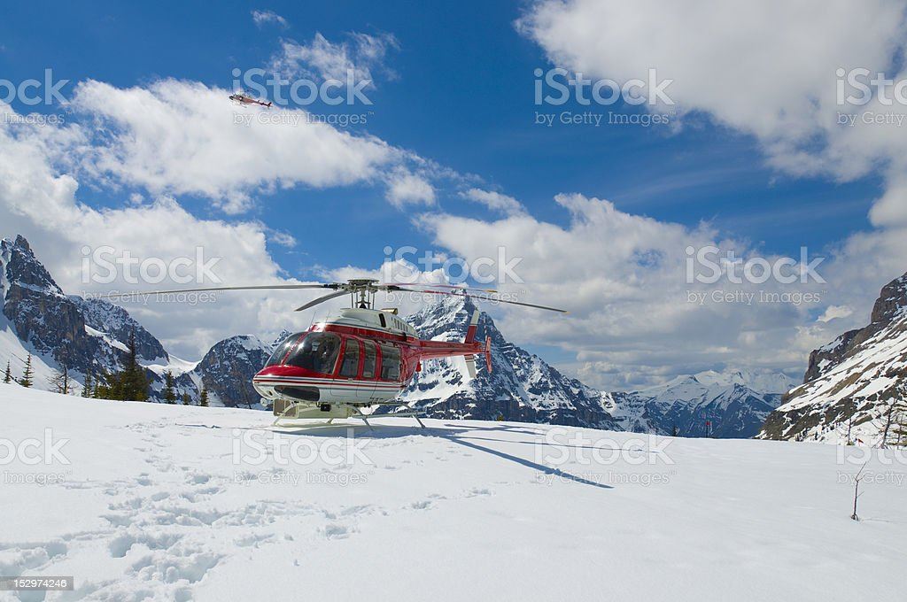 Marvel Pass Helicotper tour stock photo