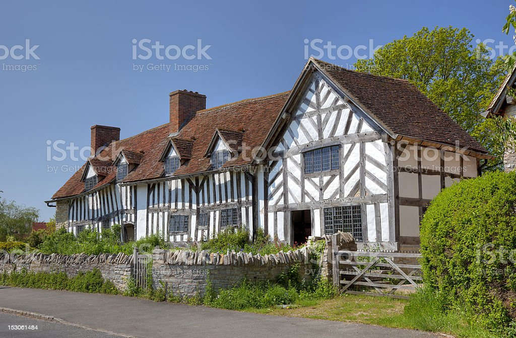 Mary Arden's House stock photo