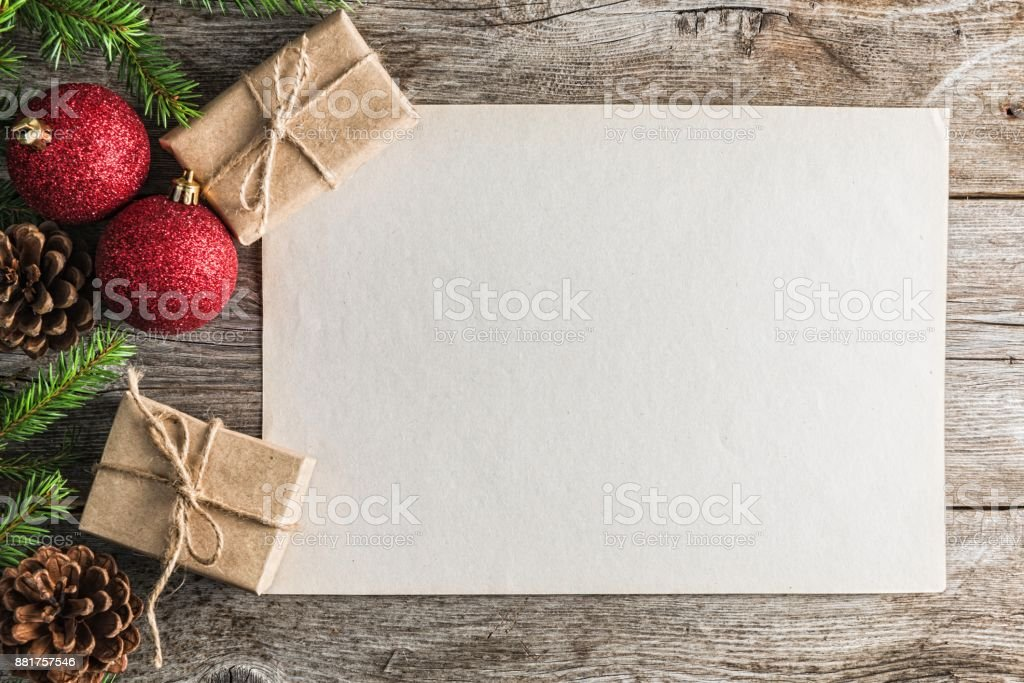 Mary Christmas and Happy New Year stock photo