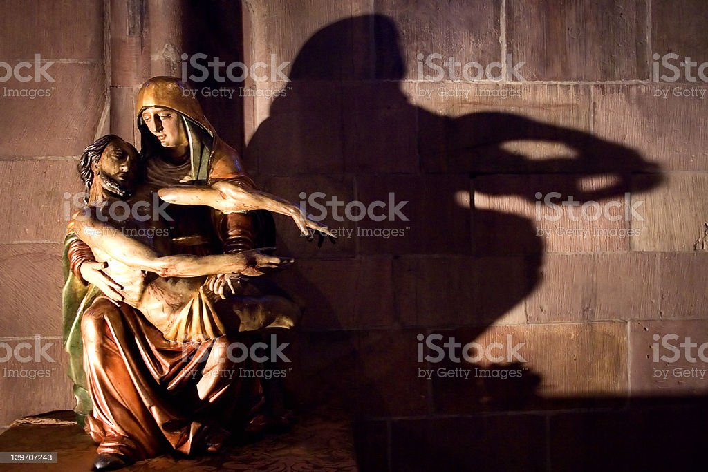 Mary & Jesus #1 royalty-free stock photo