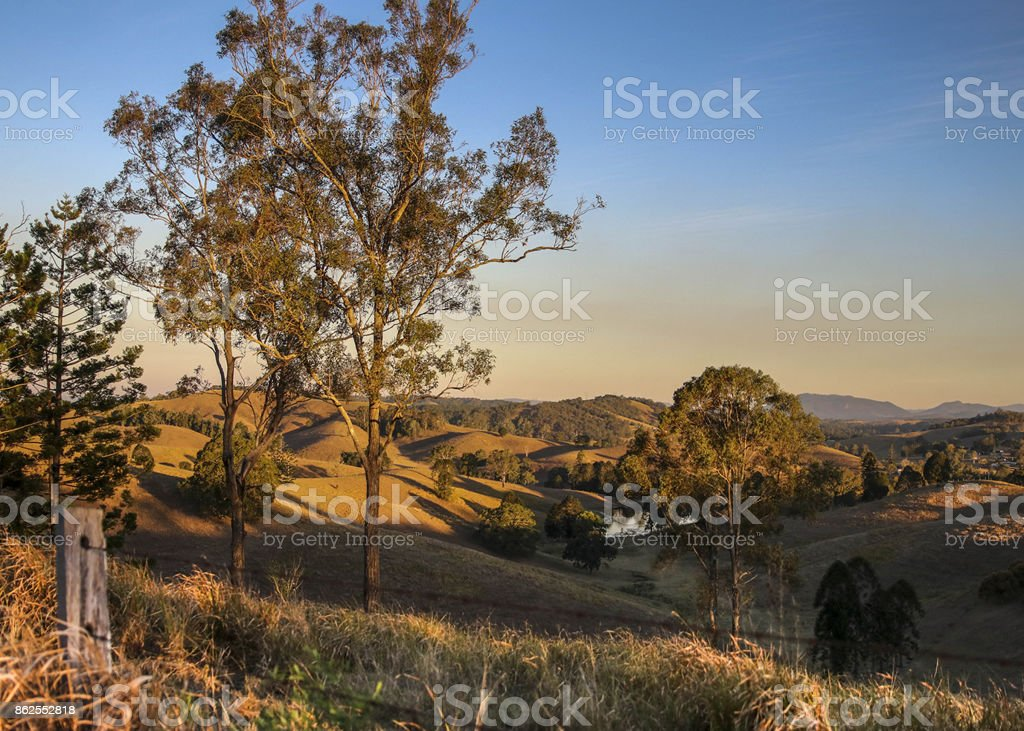 Mary Valley in drought stock photo