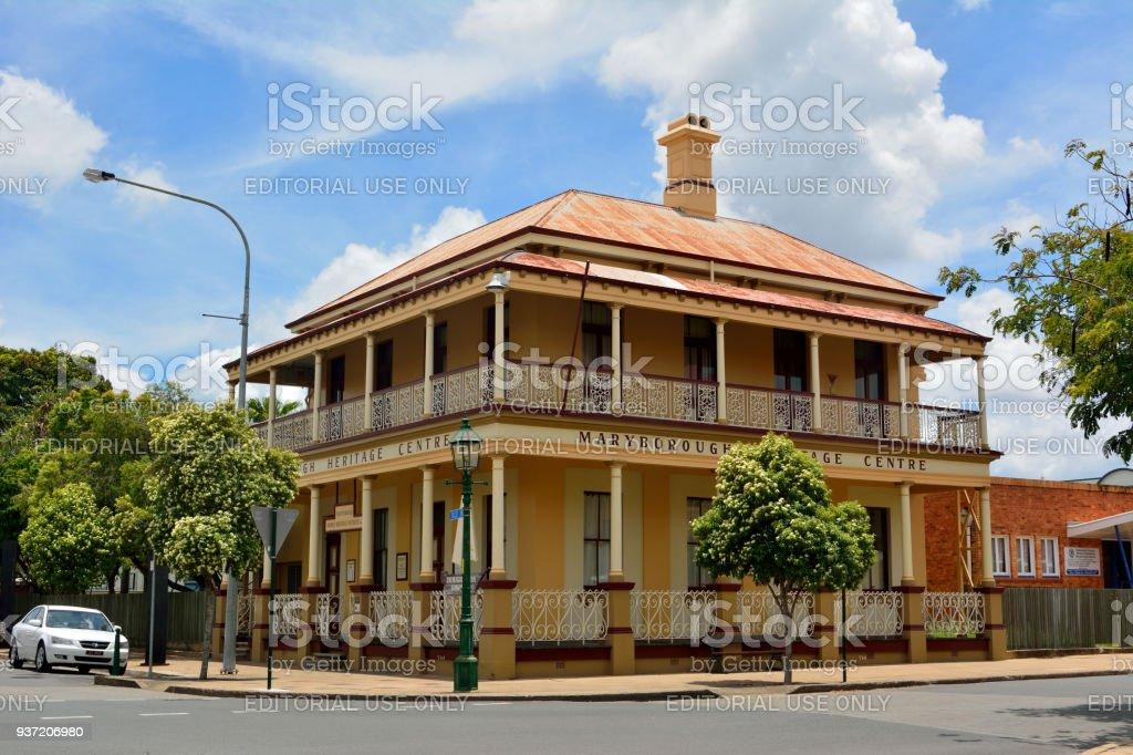 Maryborough Heritage Centre in Maryborough, QLD stock photo