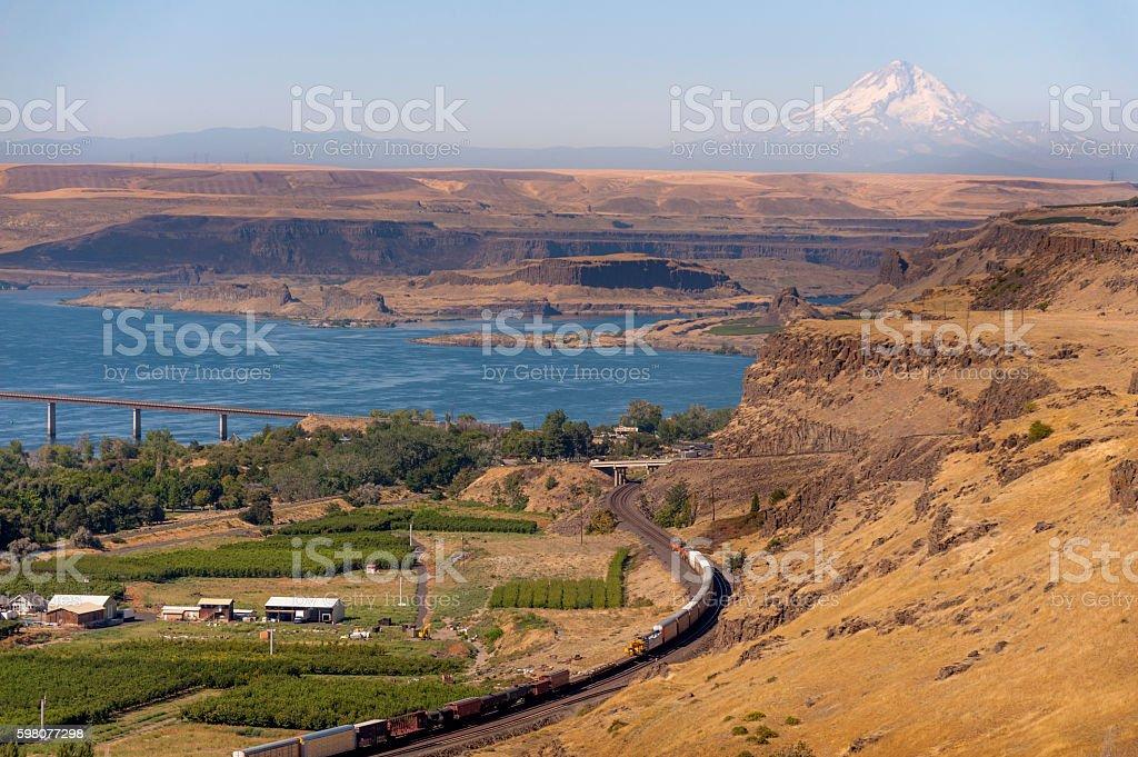 Maryhill, Washington stock photo