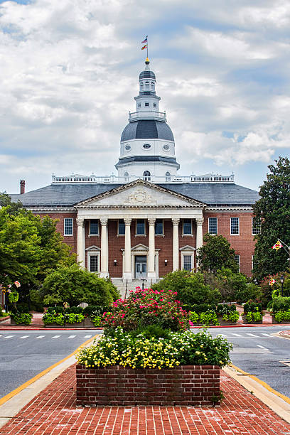 Maryland State Capitol stock photo