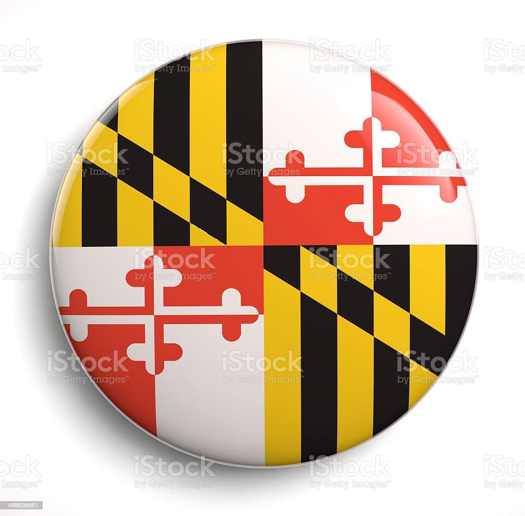Maryland state flag stock photo