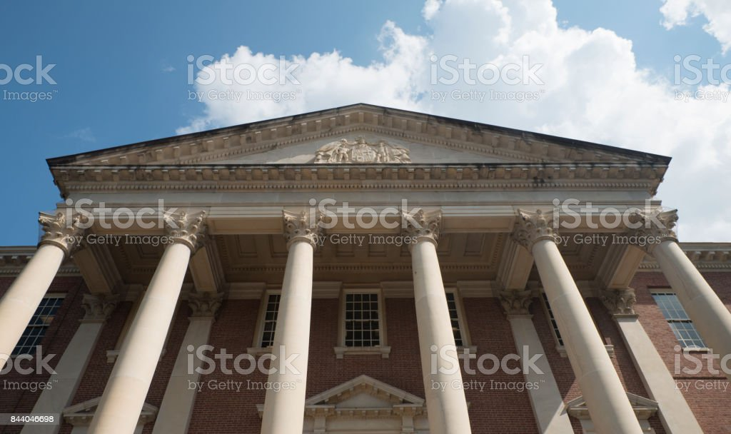 Maryland State House stock photo