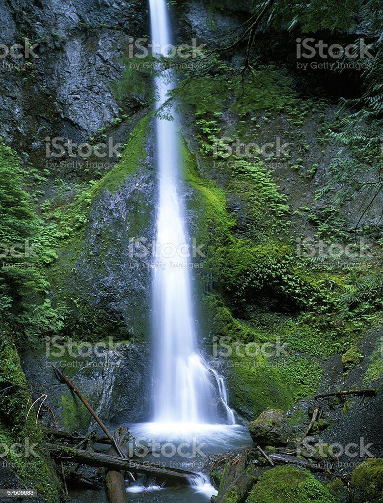 Marymare Falls royalty-free stock photo