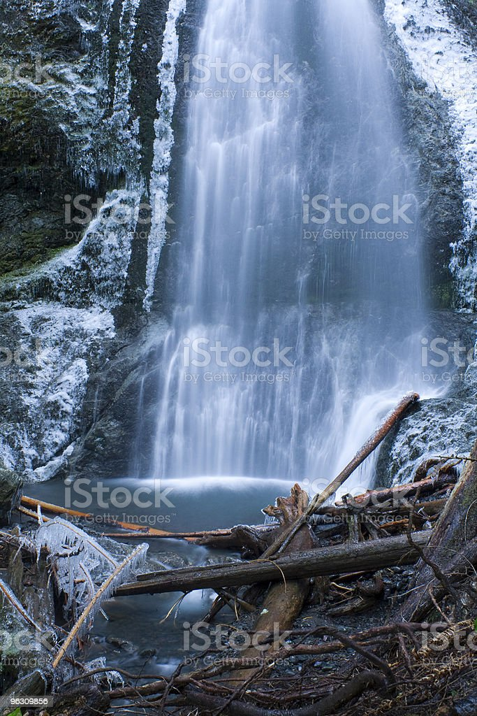 Marymere Falls royalty-free stock photo