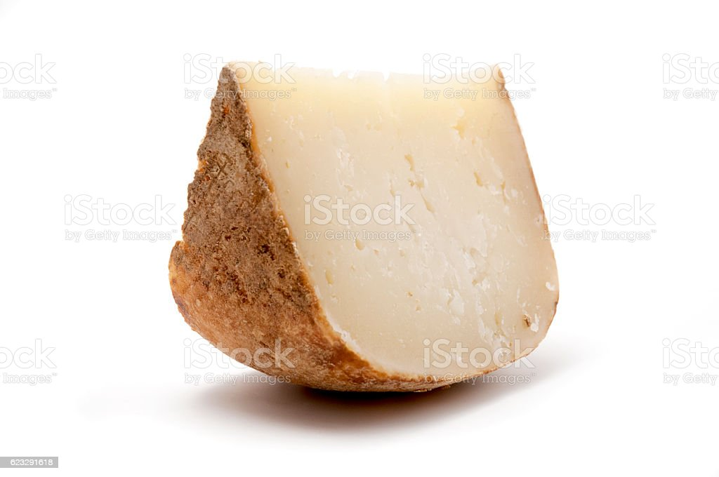 Marzolino cheese stock photo