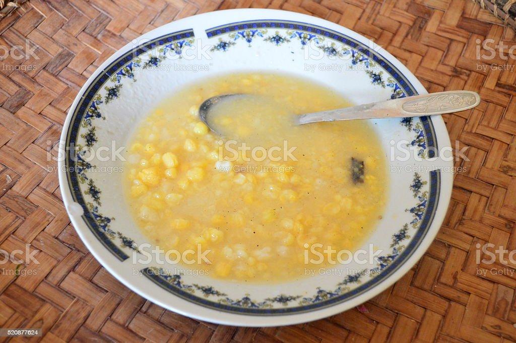 Coco au maïs photo libre de droits