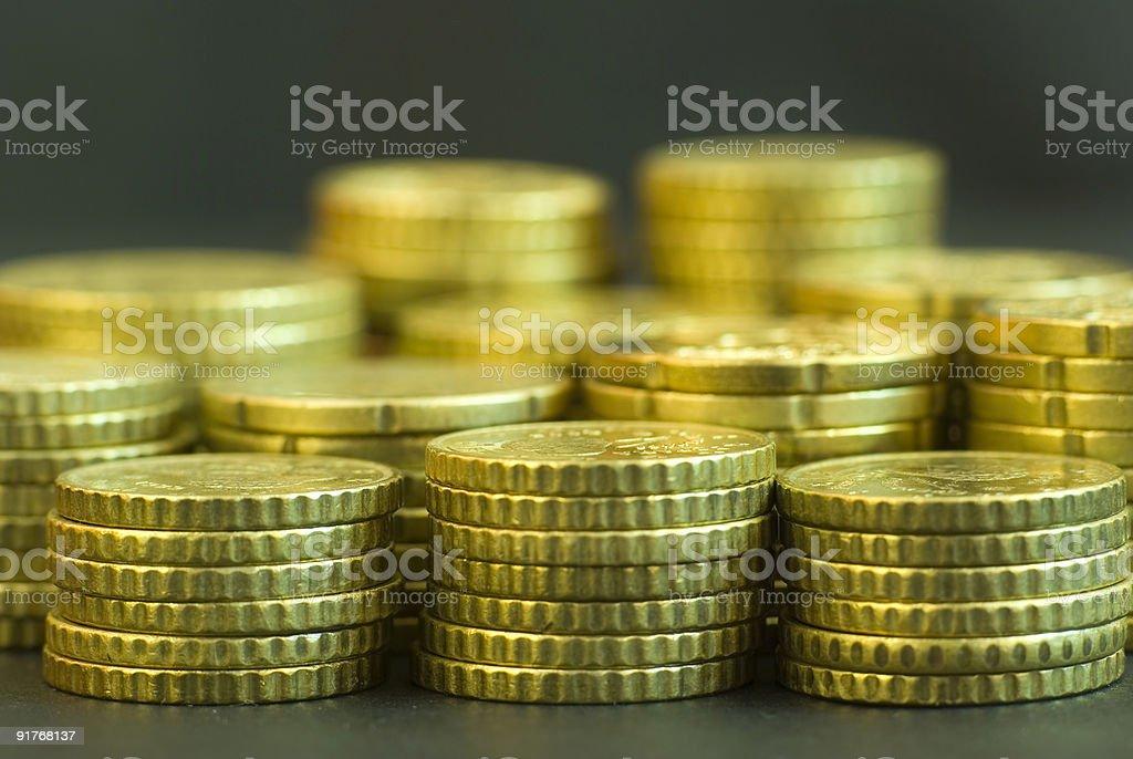 Mas monedas - foto de acervo