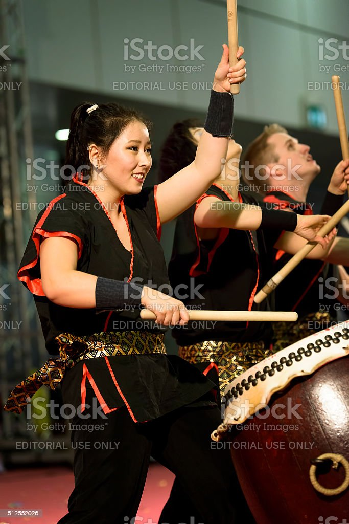 Masa Daiko group stock photo