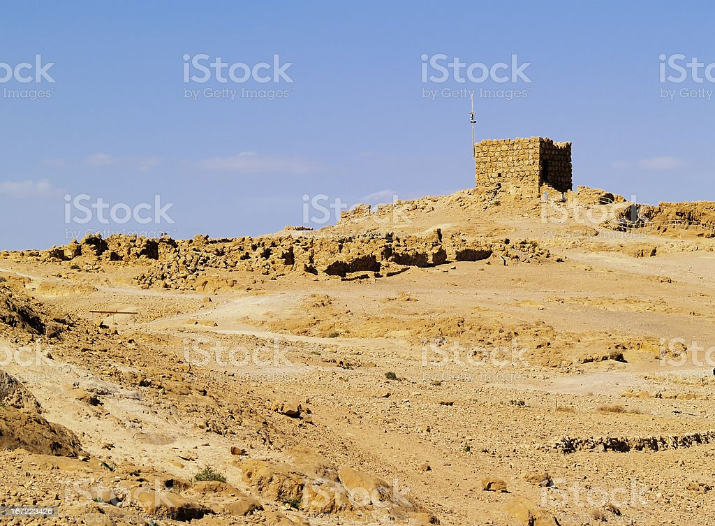 Masada, Israel royalty-free stock photo