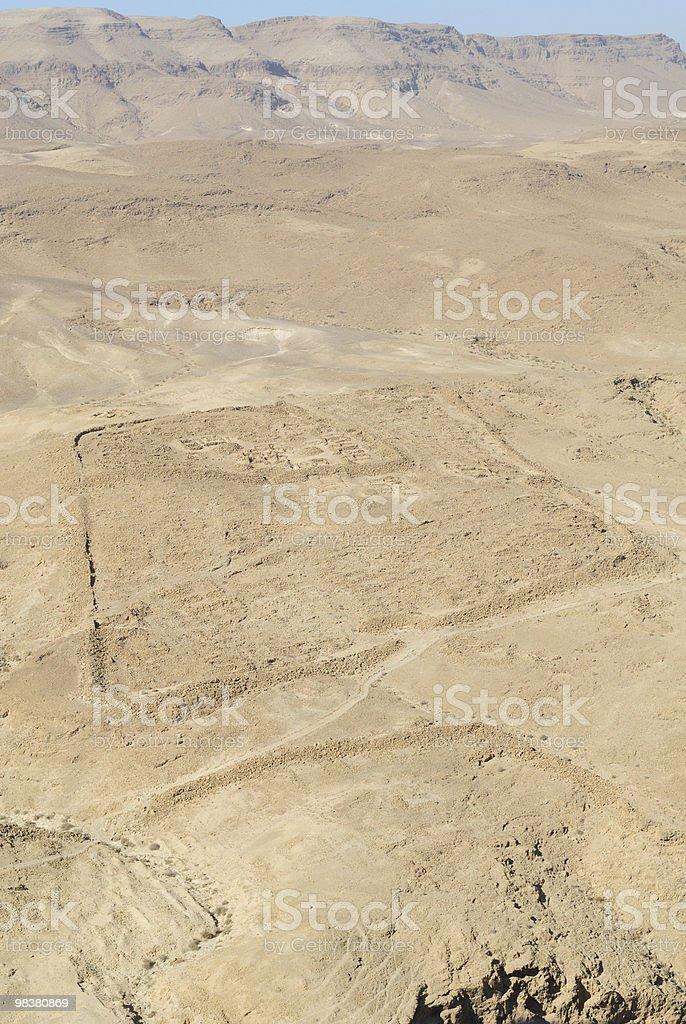 Masada Roman base royalty-free stock photo