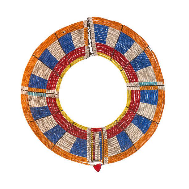 Masai Wedding Necklace stock photo