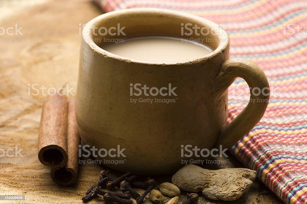 masala chai royalty-free stock photo