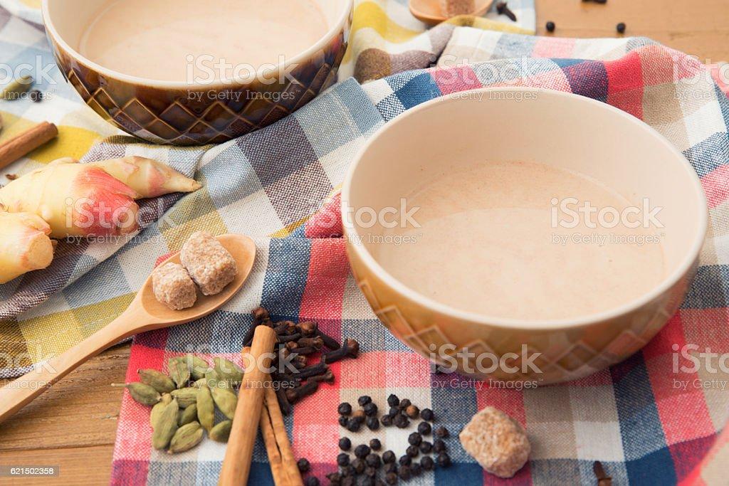 Tè Masala chai foto stock royalty-free