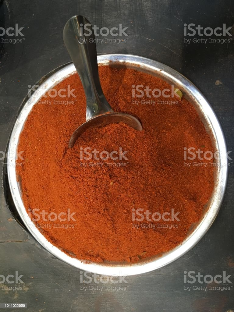 Masala Curry Powder stock photo