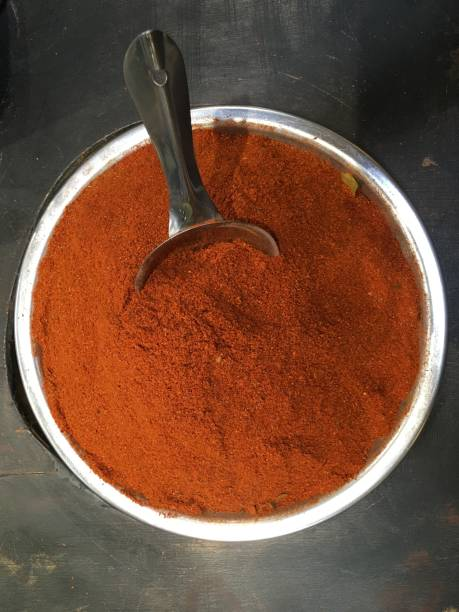 Masala Curry Powder stock photo
