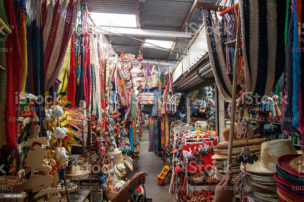 Masaya popular market, Daily life on Nicaragua photography series foto royalty-free