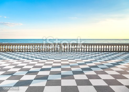 Mascagni Terrazza Terrace Belvedere Seafront And Harbour