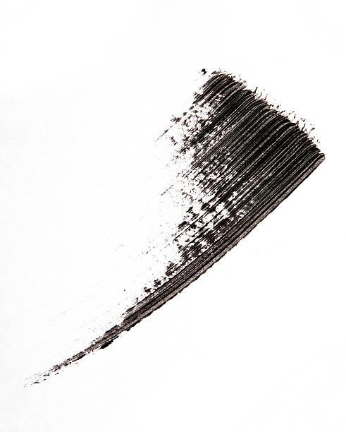 Wimperntusche brush auf den Hintergrund – Foto