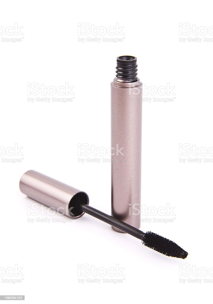 Mascara brush. stock photo