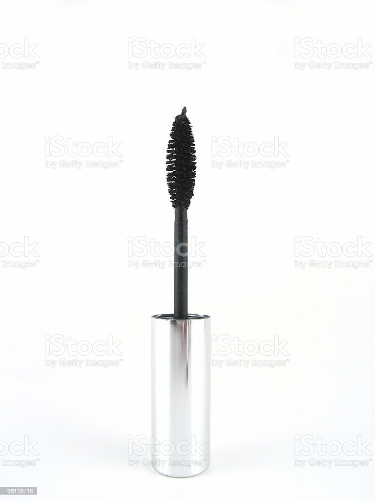 Mascara spazzolino foto stock royalty-free
