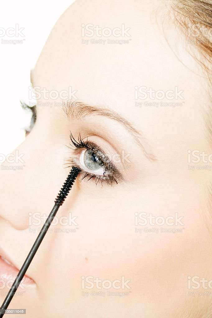 Mascara stock photo