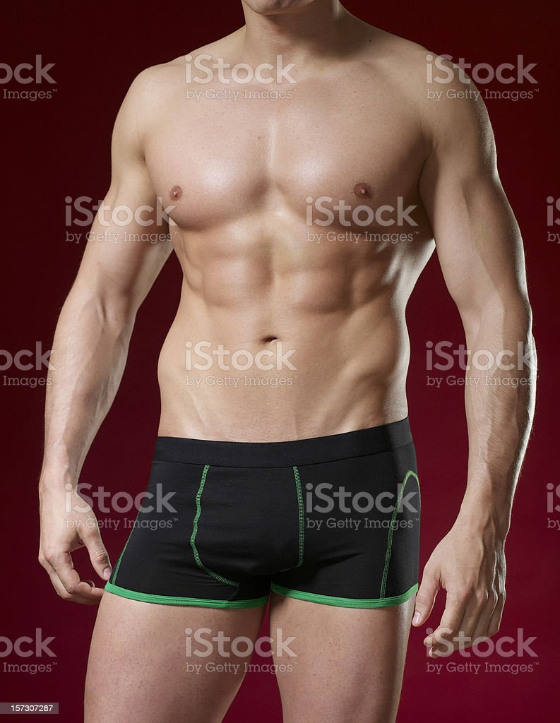 Masculine beauty series royalty-free stock photo