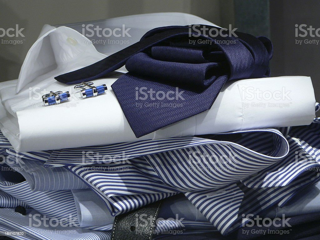 masculine clothes royalty-free stock photo