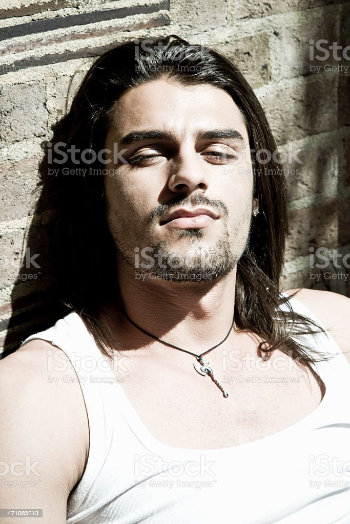 Masculine Man royalty-free stock photo