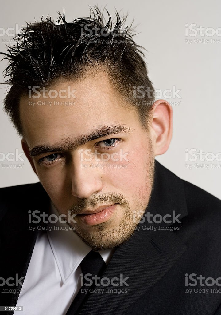 Masculine royalty-free stock photo