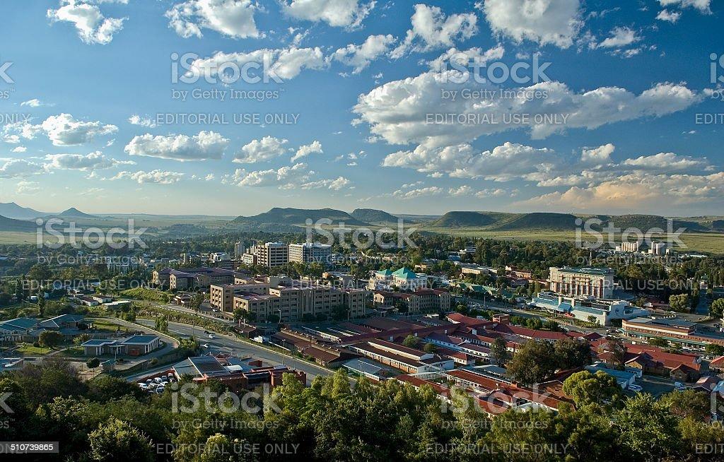 Maseru, Lesotho stock photo
