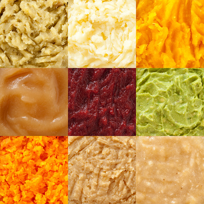 istock Mashed foods composition 510571696