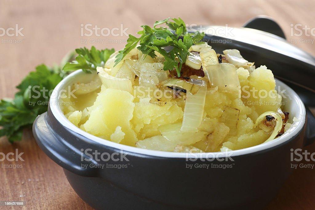 Mashed potato royalty-free stock photo