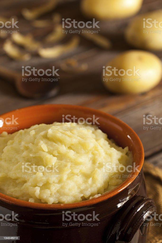 Mashed Potatoes royalty-free stock photo