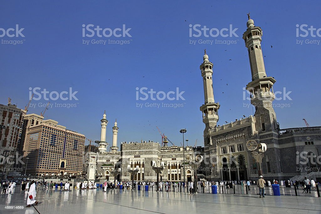 masjid al haram stock photo
