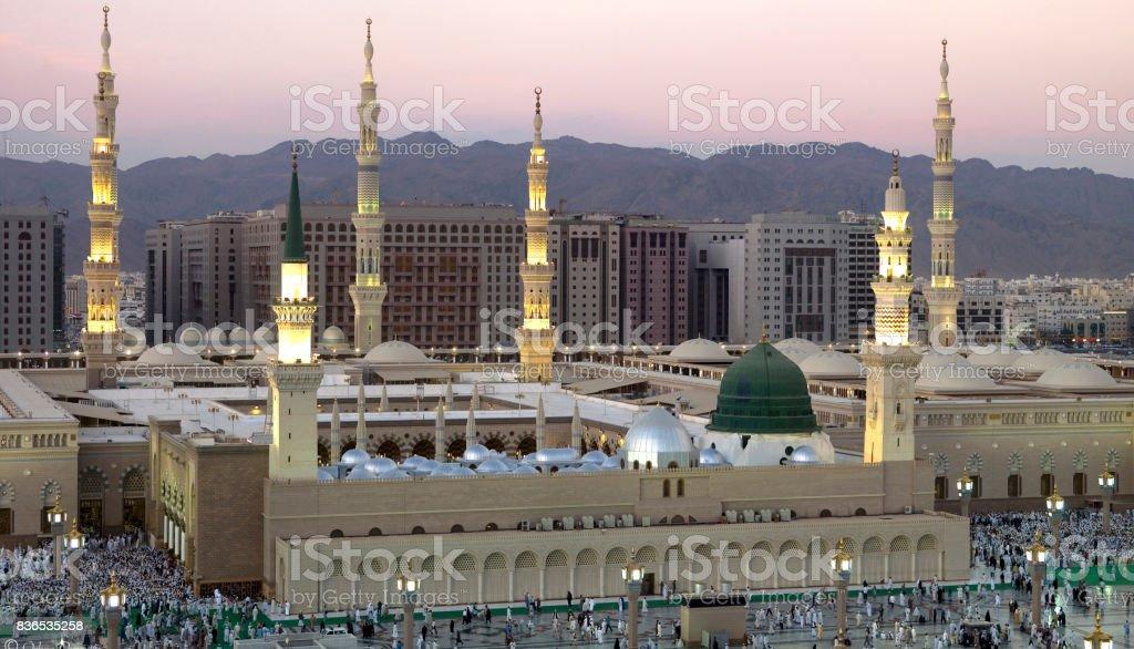 Masjid An-Nabawi, Madinah, Arab Saudi