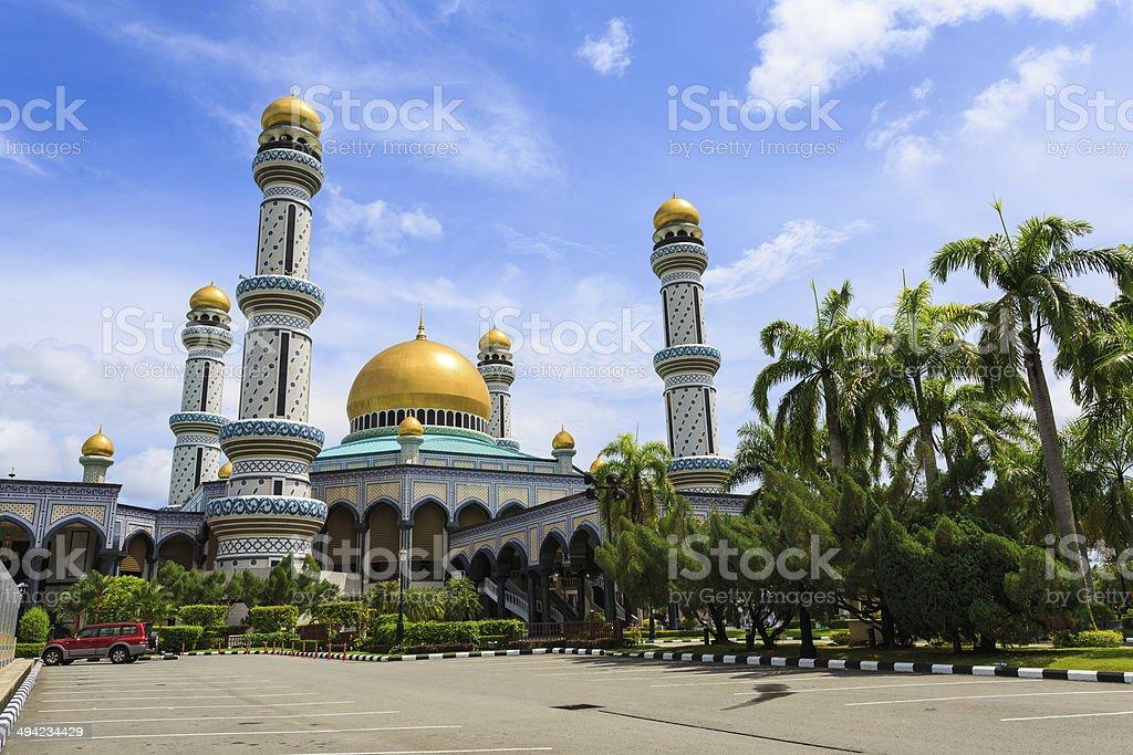 Masjid Brunei stock photo