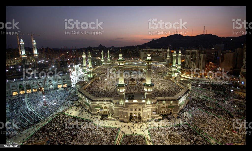 Masjid-i Haram stock photo