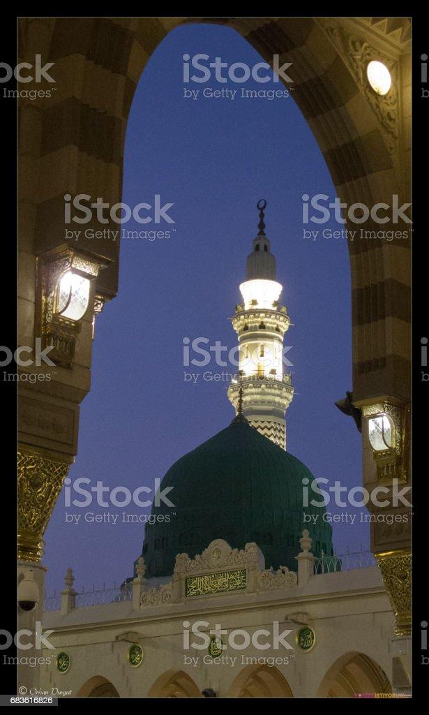 Masjid-i Nebi stock photo