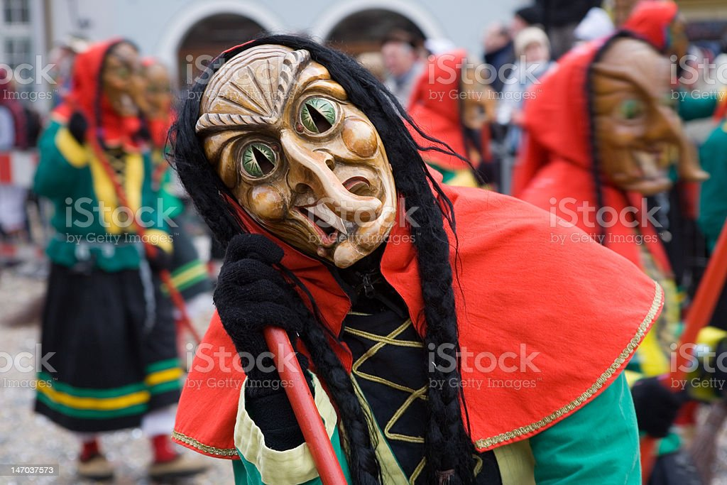 Maske, Karneval stock photo